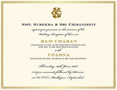 Telugu Super Star Ram Charan Teja Son Of Megastar Chiranjeev Is Marrying Her Long Term Girl Friend Upasana Kamineni The Grand Wedding Touted As